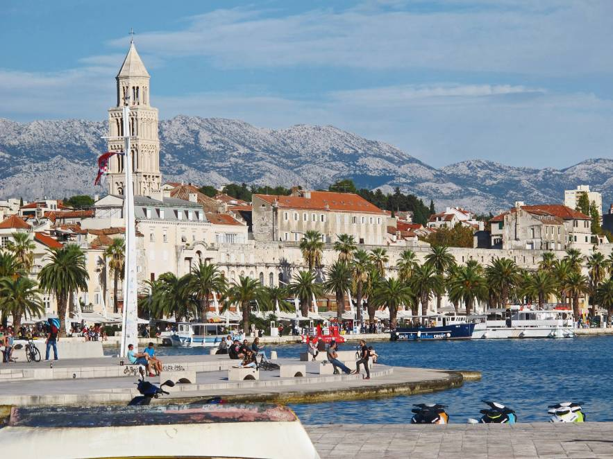 Top 5 south beaches in Split you have to visit