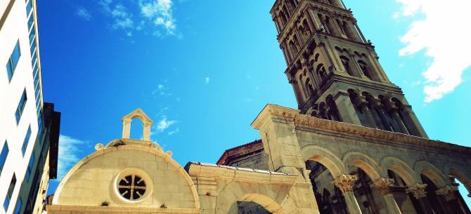 Places to see when renting a car in Split for one day